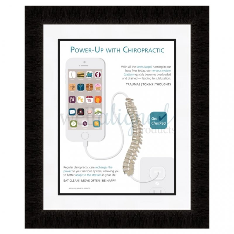 Chiropractic educational poster