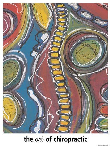 Chiropractic Art Poster