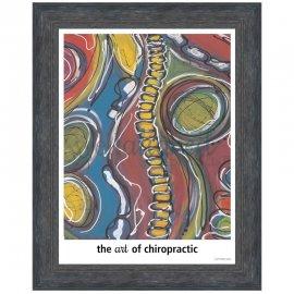 chiropractic art posters