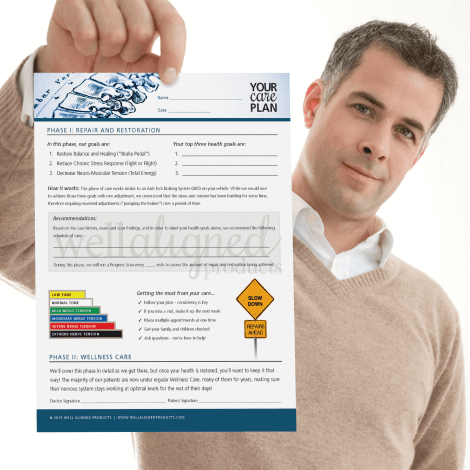 chiropractic care plan restore wellness recommendation