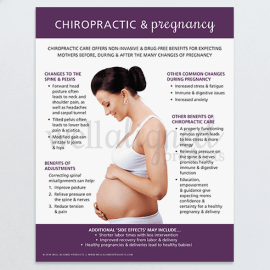Chiropractic Pregnancy education spine pelvis adjustments delivery labor
