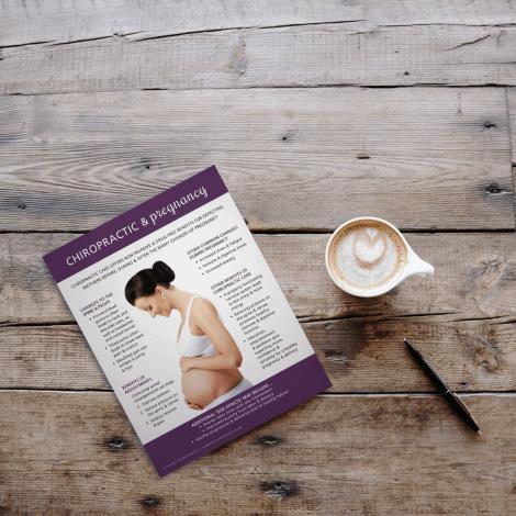 Chiropractic Pregnancy education spine pelvis adjustments delivery labor