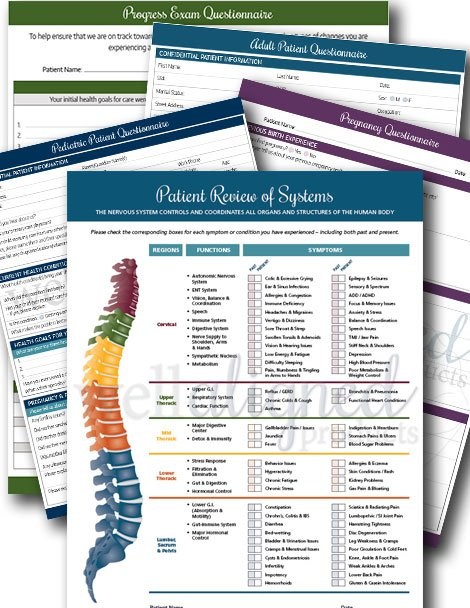 Chiropractic Intake Forms