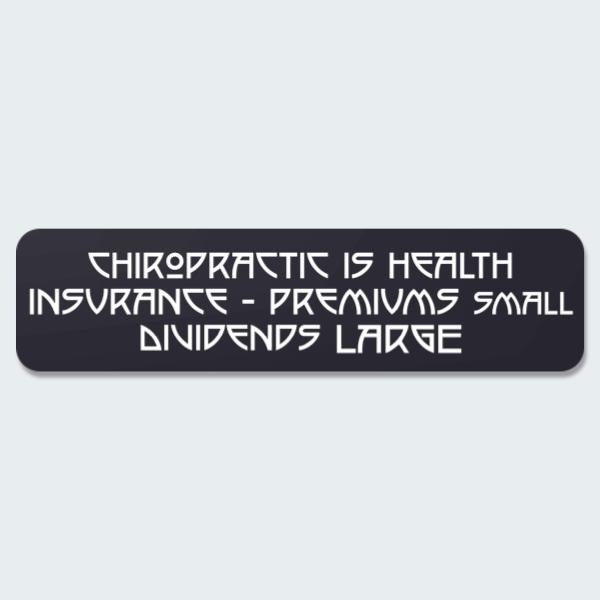 chiropractic epigram